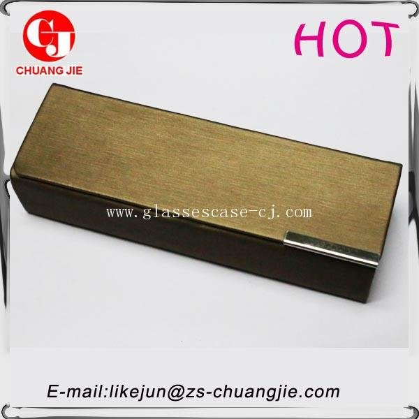 ChuangJie 8143 PU Handicraft Glasses Case