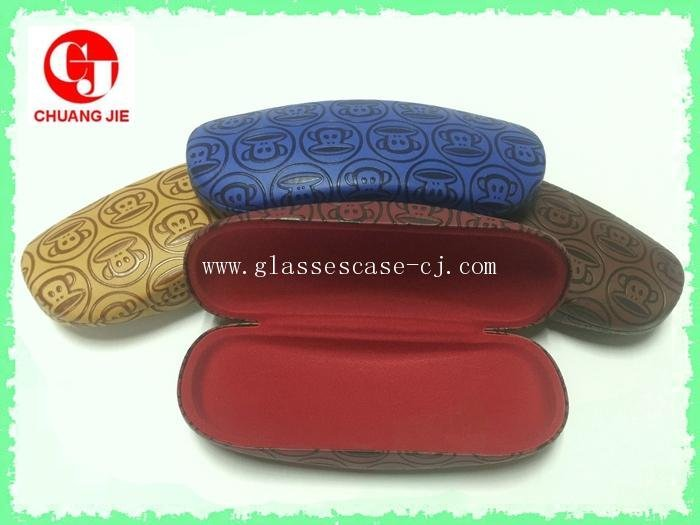 Chuangjie 8002 PU glasses case(new)