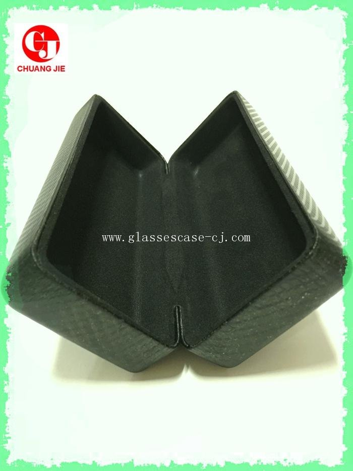 ChuangJie 8051 Black PU Glasses Case (New)