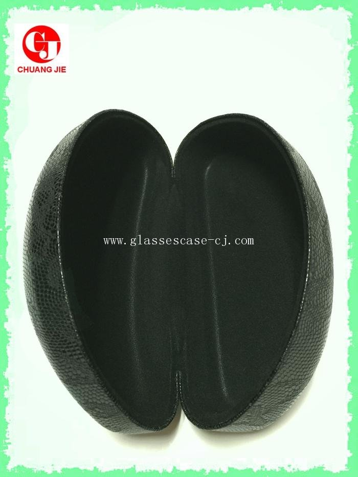 ChuangJie 8138 Black PU Glasses Case (New)
